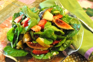 spinach salad 011