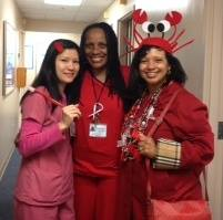 Eastmont Dental rocking their red!