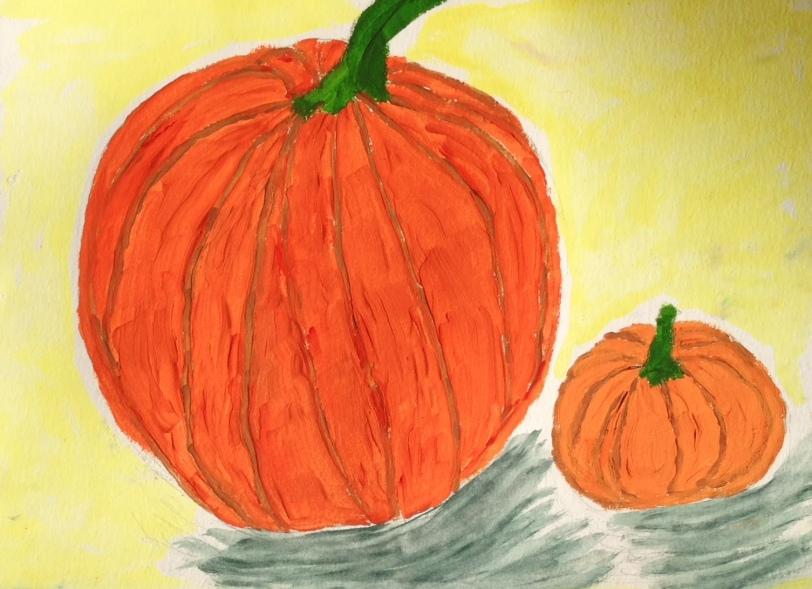 DebbieGarciaPaintingPumpkin